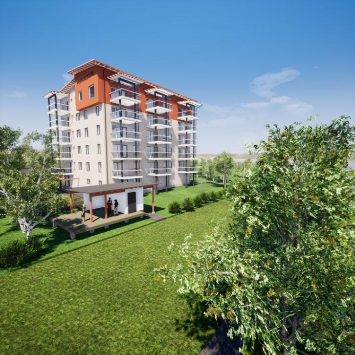 Uusi KT-asunto 3h+k+s=82 m²
