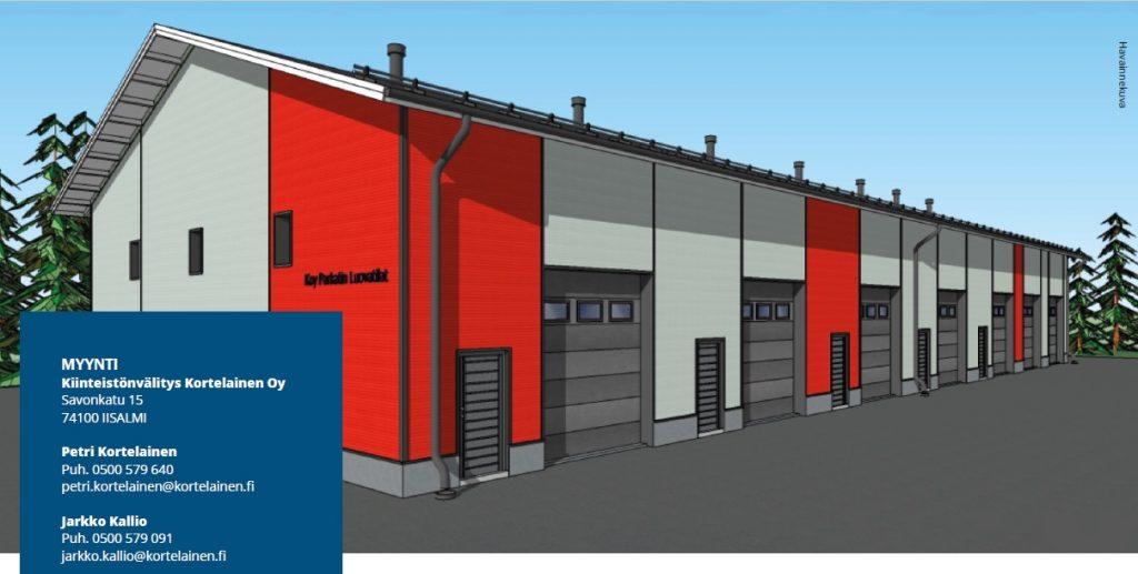 Varasto-osake 31 m²