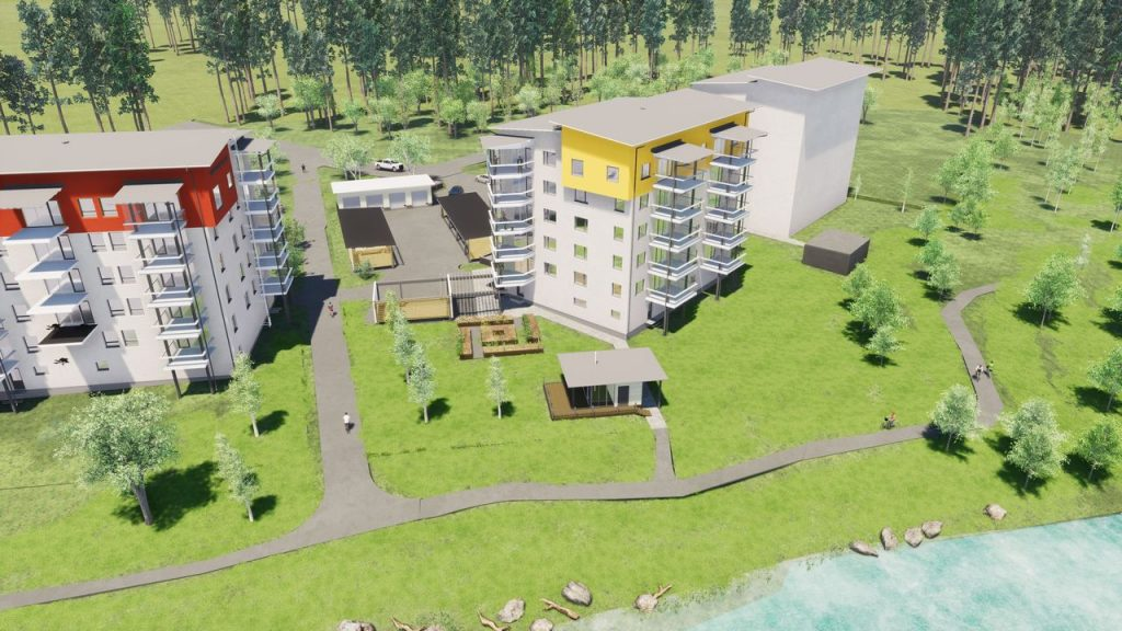 Uusi KT-asunto 3h+k+s=84,5 m²