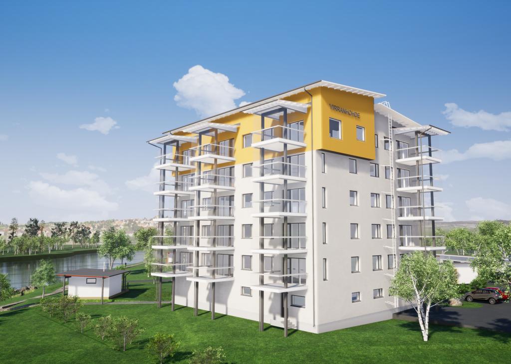 Uusi KT-asunto 2-3h+k+s=70 m²