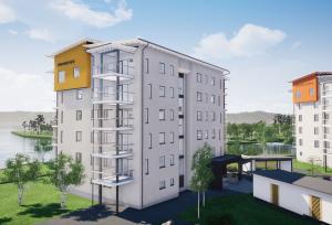 Uusi KT-asunto 2h+k+s=46 m²