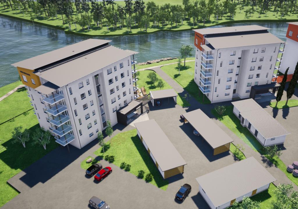 Uusi KT-asunto 2h+k+s=53,5 m²