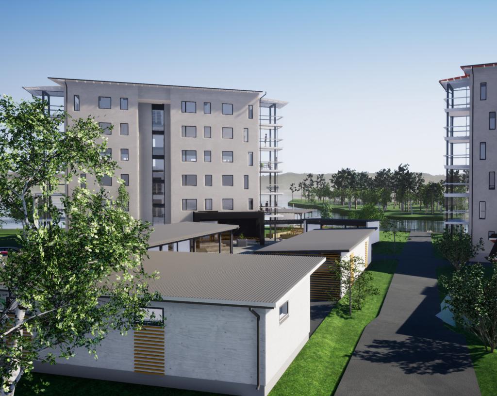 Uusi KT-asunto 3h+k+s=77,5 m²