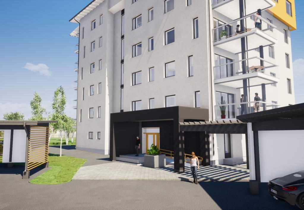 Uusi KT-asunto 2h+k+s=60 m²