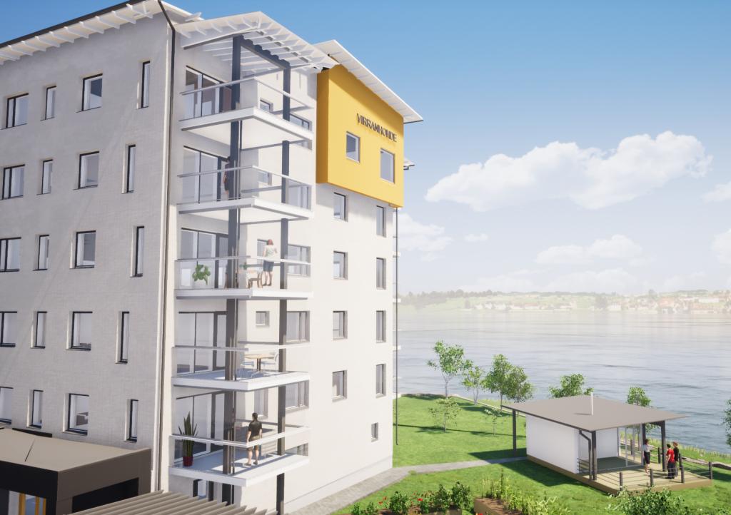 Uusi KT-asunto 3h+k+s=89,5 m²